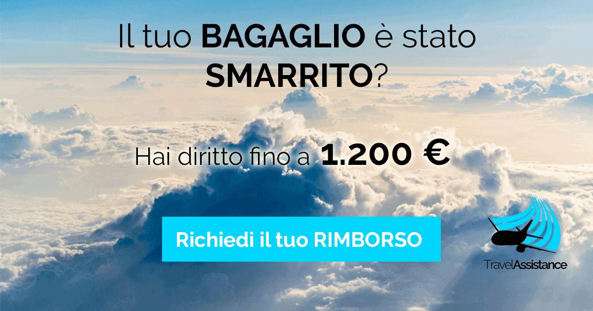 rimborso per bagaglio smarrito - Travel Assistance