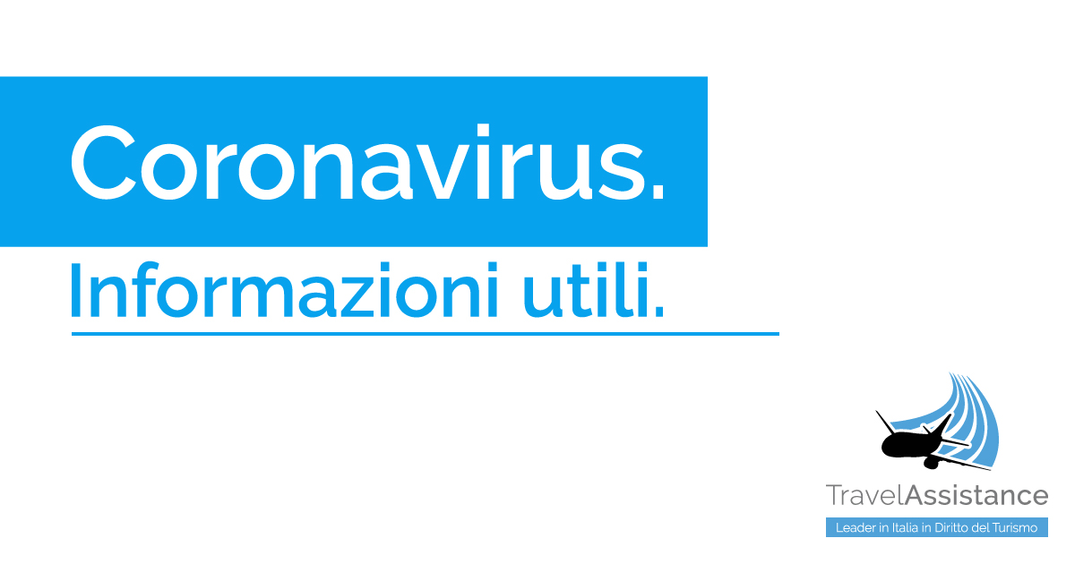 Coronavirus Informazioni utili rimborso viaggi